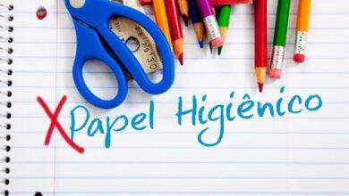 papel higienico na lista de material escolar