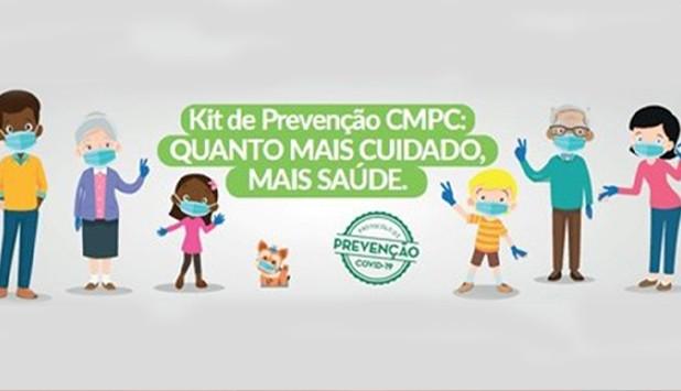 CMPC distribui kits de prevenção para colaboradores e seus familiares