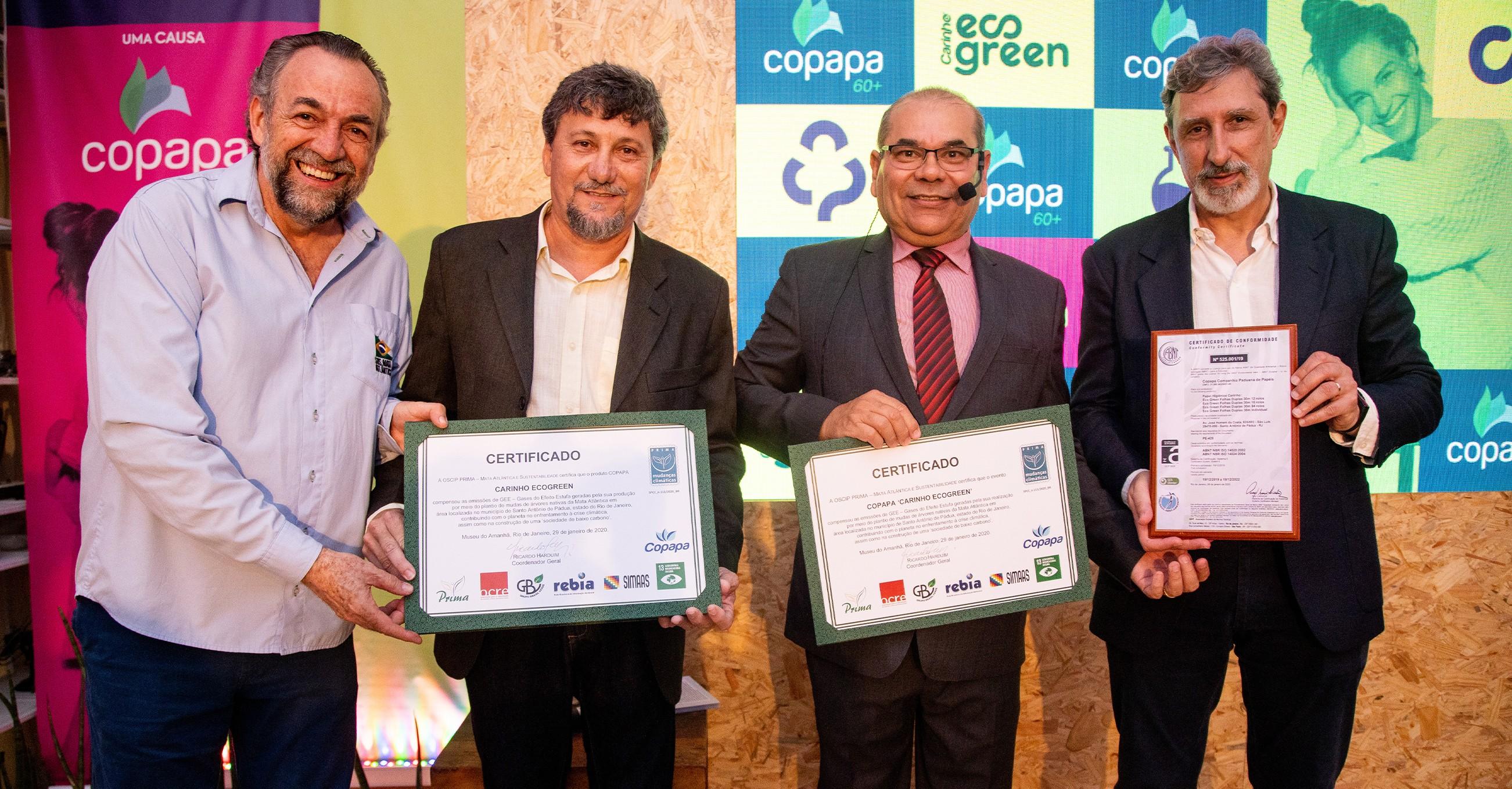 Copapa conquista o Rótulo Ecológico ABNT Ambiental